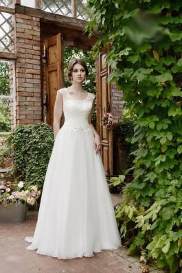 Vintage svatební šaty 2018, krajka, lehké nadýchané tylové bílé ivory, svatba příroda romantické...